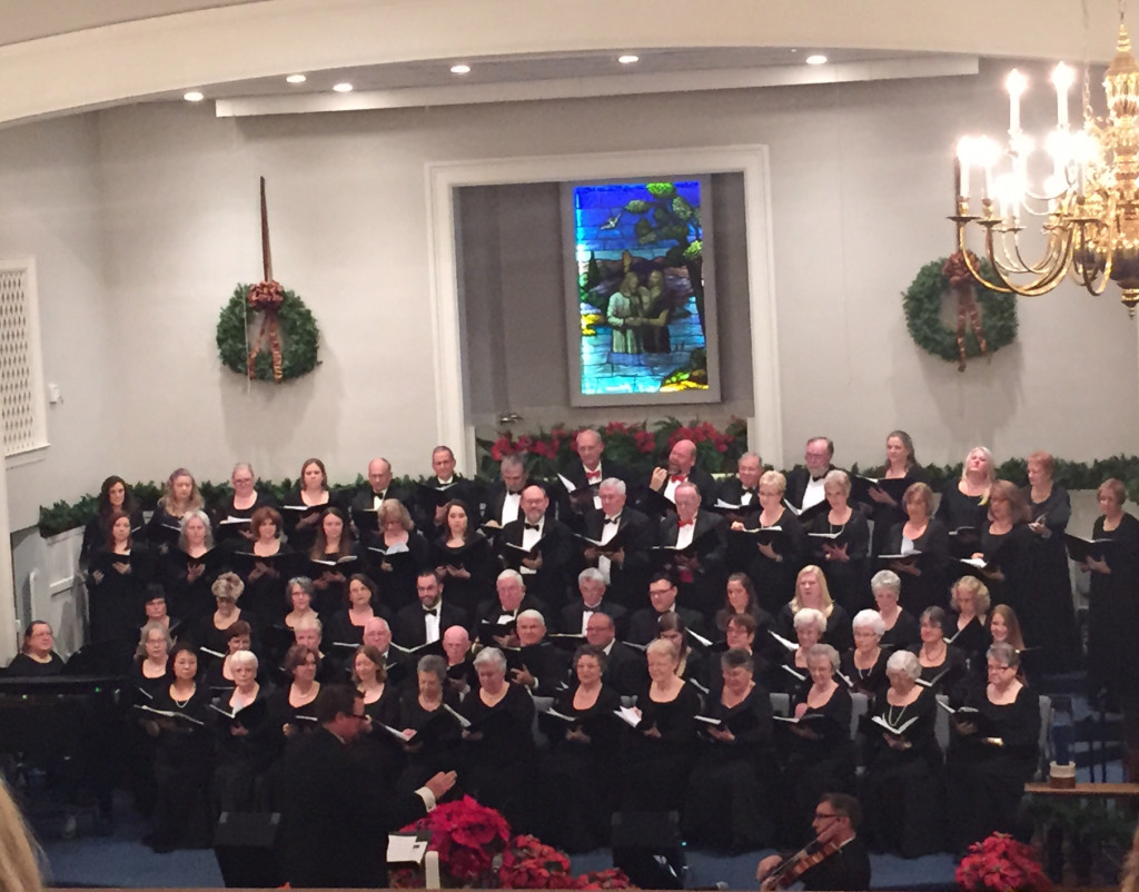 Alamance Chorale Christmas Program LET THERE BE LIGHT, December 9, 2014 ~ Glen Hope Baptist