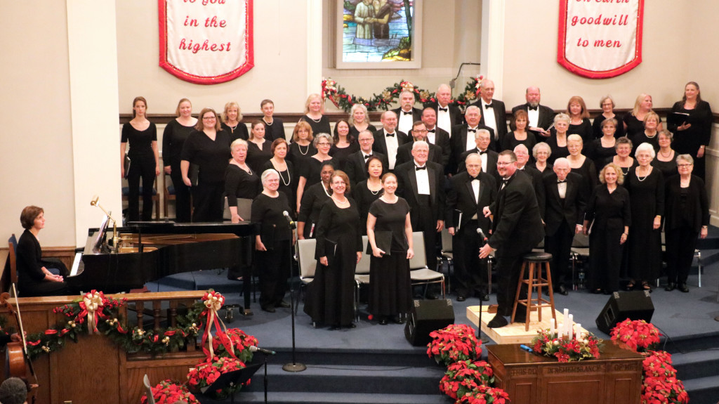 Alamance Chorale, 12 Songs Of Christmas, December 13, 2016