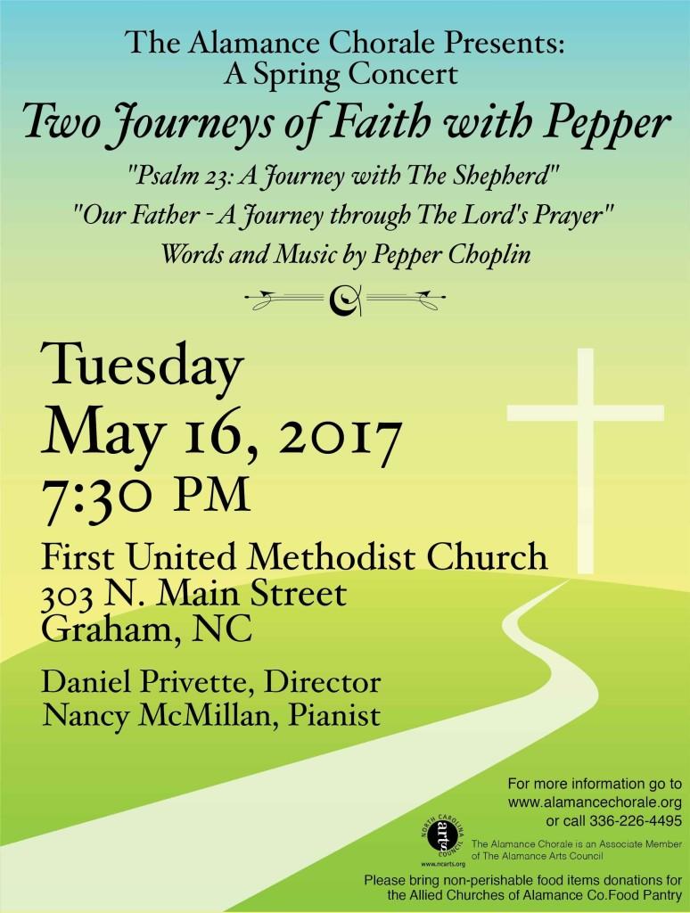 May 2017 Spring Concert, Choplin
